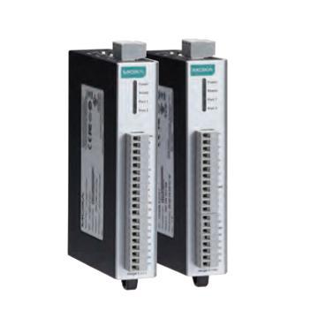 摩莎Moxa 6DI开关量输入以及6Relay继电器一体式设计远程I/O,ioLogik E1214