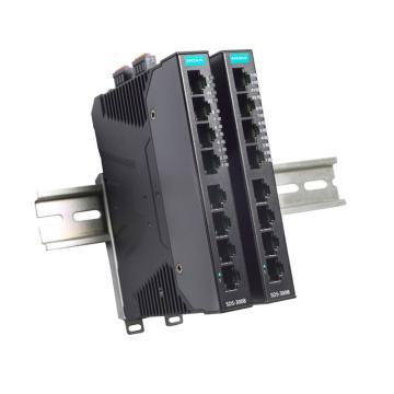 摩莎Moxa 8口简单管理型百兆工业以太网交换机,SDS-3008