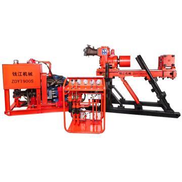 钱江 煤矿用全液压坑道钻机,ZDY1900S,煤安证号MED130020,单位:台