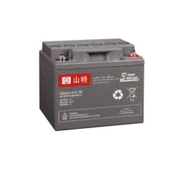 山特 12V,38AH蓄电池,C12-38