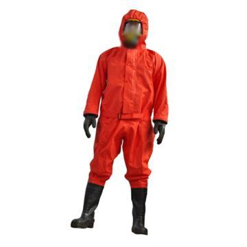 海安特 国标2级防化服,FH-II-H-43,轻型防化服 橙色