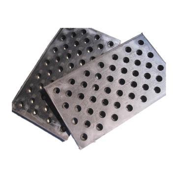 巽程 橡胶底地漏板,700mm*400mm*20mm,抛丸机漏板