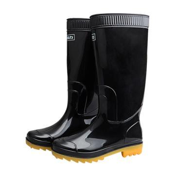 回力 男士高筒雨鞋,黑色,807,43