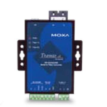 摩莎Moxa RS-232/422/485转多模光纤转换器,TCF-142-M-SC