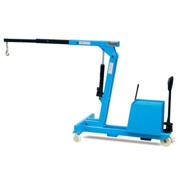 Raxwell 150-550Kg平衡重式单臂吊,手动液压操控,RMSA0001