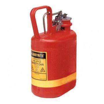 杰斯瑞特JUSTRITE Ⅰ型聚乙烯安全罐,1加仑/4L,14160Z