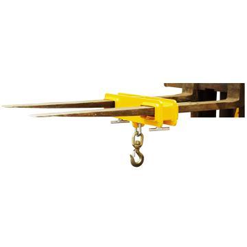Raxwell 2.5吨叉车专用吊夹,货叉孔尺寸:160*60mm,RMSF0002