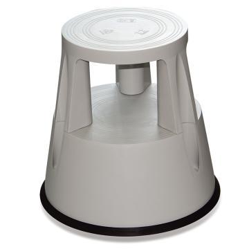 Raxwell 150Kg塑料脚凳,灰色,RMLS0006