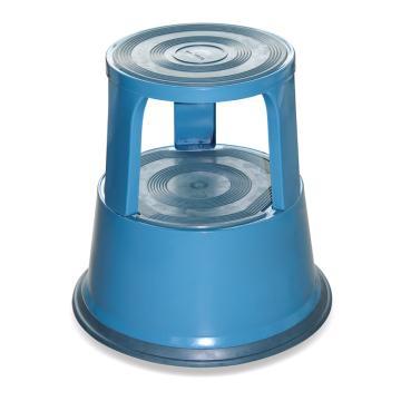 Raxwell 150Kg钢制脚凳,蓝色,RMLS0001