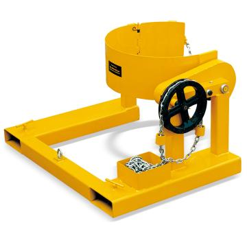 """Raxwell 364Kg油桶搬运夹(叉车专用),桶径572mm(22.5""""),55Gallon,RMCM0015"""