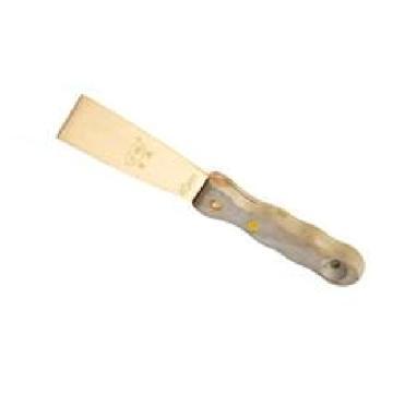 渤防 防爆木柄泥子刀,1273-40 40*215 铝青铜