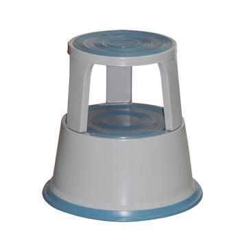 Raxwell 150Kg钢制脚凳,灰色,RMLS0002