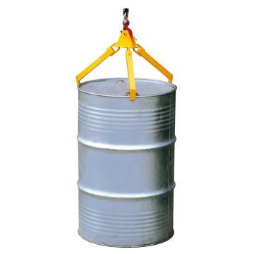 Raxwell 360Kg油桶起吊夹(吊式三爪),适用于210升/55加仑钢桶,RMCO0002