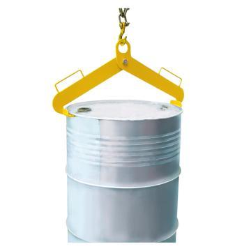 Raxwell 500KgA型油桶吊夹(双夹式),适用于210升/55加伦钢桶,RMCO0003