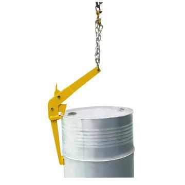 Raxwell 500KgB型油桶吊夹(夹扣式),适用于210升/55加伦钢桶,RMCO0004