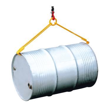 Raxwell 500Kg油桶起吊夹(起吊横桶),适用于210升/55加仑钢桶,RMCO0006