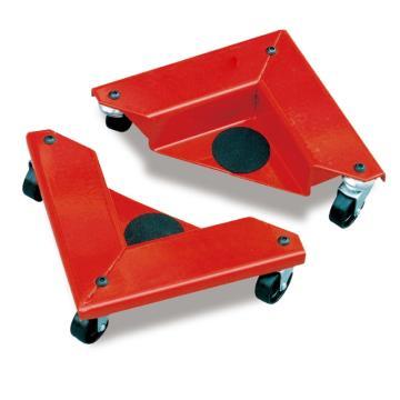 Raxwell 150Kg钢制角向家具搬运器,承载面高度15mm 尼龙轮,RMCF0009