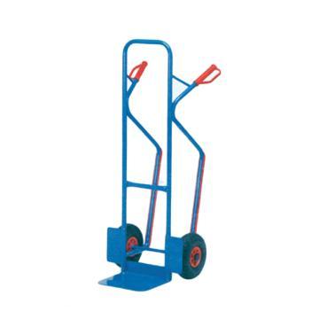 Raxwell 300Kg 加强型钢制老虎车,铲板(长*宽):250*320 实心橡胶轮胎,RHMC0137