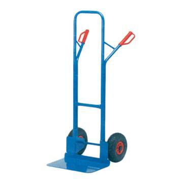 "Raxwell 300Kg 普通钢制老虎车,铲板(长*宽):300*480mm 10""X2.5""实心橡胶轮胎,RHMC0138"