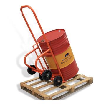 Raxwell 油桶摇篮车(表面喷塑处理),载重(kg):350 尼龙轮φ200X50 适用于55加仑油桶,RHMC0081