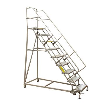 Raxwell 160Kg9层踏板美式B型固定取货梯,最高层离地高度2300mm,RMLP0009