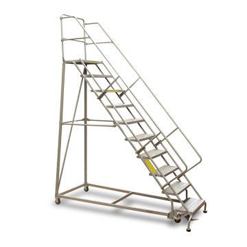 Raxwell 160Kg10层踏板美式B型固定取货梯,最高层离地高度2550mm,RMLP0010