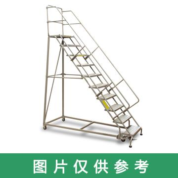 Raxwell 160Kg11层踏板美式B型固定取货梯,最高层离地高度2810mm,RMLP0011