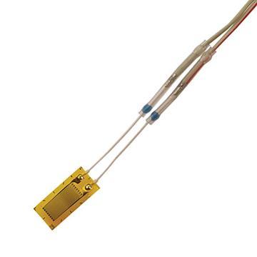 OMEGA 预接线应变片,KFH-03-120-C1-11L1M2R 0.3mm网格 120Ω 2线 1m 10片/包