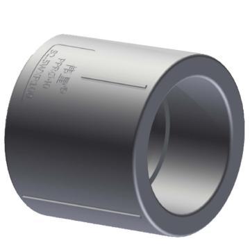 伟星 WXR灰色系列PP-R热熔接头,直通,dn160 S3.2,1个/包,整包起订