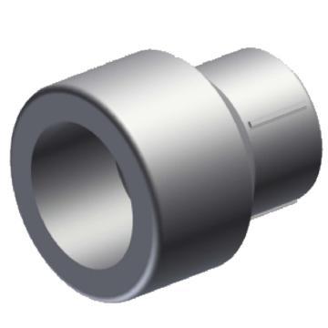 伟星 WXR灰色系列PP-R热熔接头,异径管,dn50×32,10个/包,整包起订