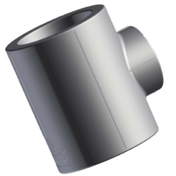伟星 WXR灰色系列PP-R热熔接头,异径三通,dn50×40×50,4个/包,整包起订