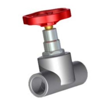 伟星 WXR灰色系列PP-R热熔塑料手轮截止阀(A),dn25,2个/包,整包起订