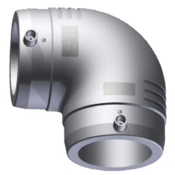 伟星 WXR灰色系列PP-R电熔90度弯头,dn110,1个/包,整包起订