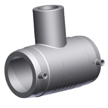 伟星 WXR灰色系列PP-R电熔异径三通,dn110×32×110,2个/包,整包起订