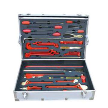渤防 防爆油库专用组合工具箱,1400-001 36件套 铍青铜