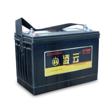 凌云 免维护蓄电池,12V/90Ah,31750B