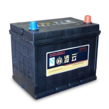 凌云 免维护蓄电池,12V/70Ah,80D26R/L