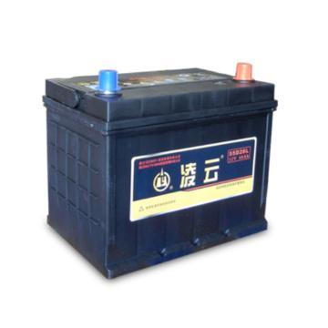 凌云 免维护蓄电池,12V/60Ah,55D26R/L