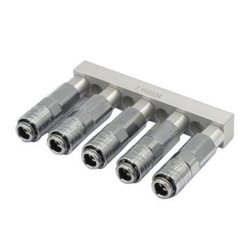 希瑞格CRG 机械手侧气管接头模块,MS-10SF*5,7.Y00334