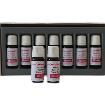 德国Arcotest粉红色达因液,38mN/m,10ml/瓶