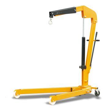 Raxwell 500Kg可折叠重型单臂吊,单作用油缸,RMSA0008