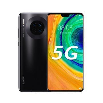华为手机,Mate 30(5G) (8G+256G) 手机-全网通版5G(TAS-AN00) 黑
