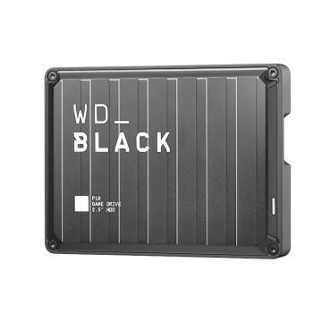 西部数据硬盘,BLACK P10 移动硬盘 WDBA3A0050BBK-CESN 5T