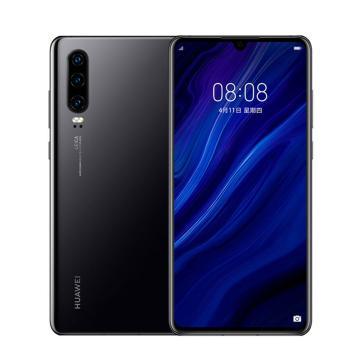 华为手机,P30 (8G+128G) 手机-全网通版4G(ELE-AL00) 黑