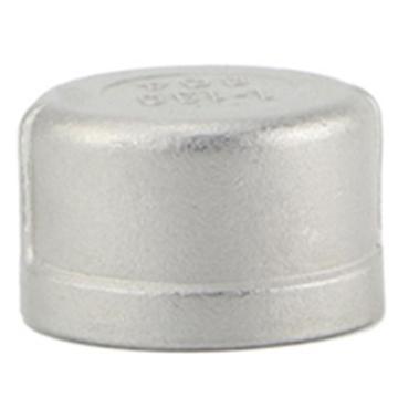 "Raxwell 不锈钢304圆管帽,1_1/2"",DN40,PT螺纹"