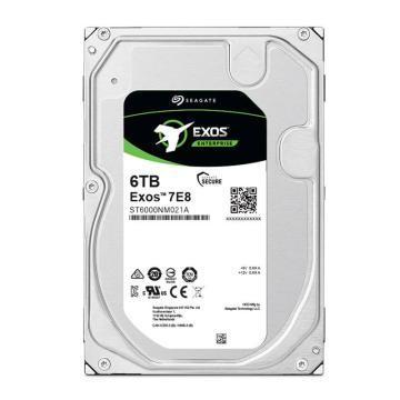 希捷企业级硬盘,ST6000NM021A 6TB 256MB 7200RPM SATA接口 希捷银河Exos 7E8系列 坚固可靠安全耐用