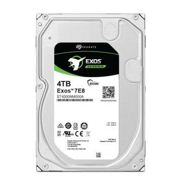 希捷企业级硬盘,ST4000NM000A 4TB 256MB 7200RPM SATA接口 希捷银河Exos 7E8系列 坚固可靠安全耐用