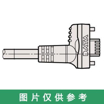 三丰Mitutoyo 脚踏开关连接电缆,U-WAVE-T、带输出按钮直线型,02AZE140A