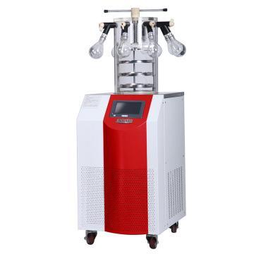 永合创信 实验室立式冻干机,冻干面积0.135㎡,CTFD-18PT多歧管压盖型