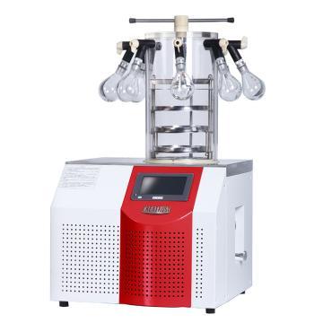 永合创信 实验室台式冻干机,冻干面积0.09㎡,CTFD-10PT多歧管压盖型